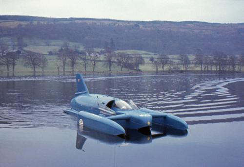 Donald Campbell's Bluebird is coming to Loch Fad in August